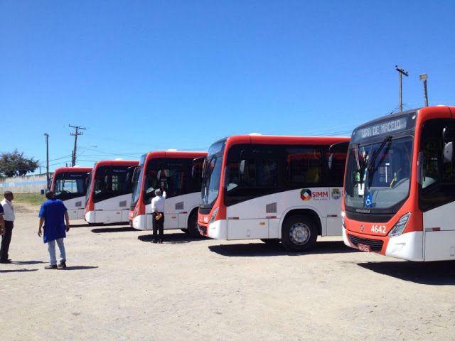 SÉRGIO JOSÉ- ÔNIBUS ALAGOAS: Em Maceió Linha 048 Recebe  5 ônibus Novos