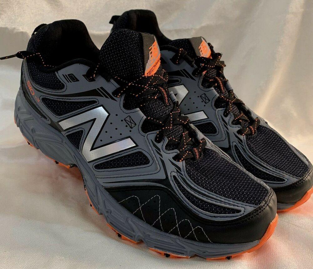 New Balance Mens 510 V3 Black/Grey 4E