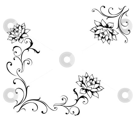 Flower Pattern Drawing Simple Flower Pattern Drawing