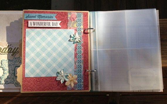Premade Calendar Journal Scrapbook 2013 Planner by ArtsyAlbums, $55.99