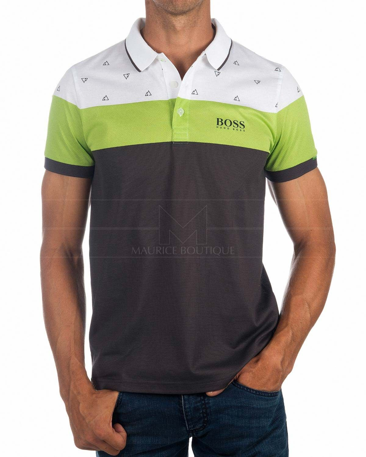 ba970be4440d0 Polos HUGO BOSS ® Paddy Blanco ✶ Martin Kaymer