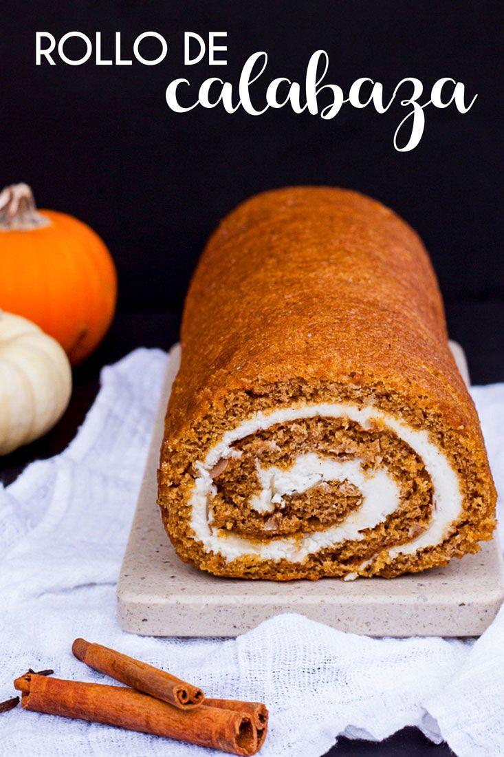 RECETA DE ROLLO DE CALABAZA - the sweet molcajete