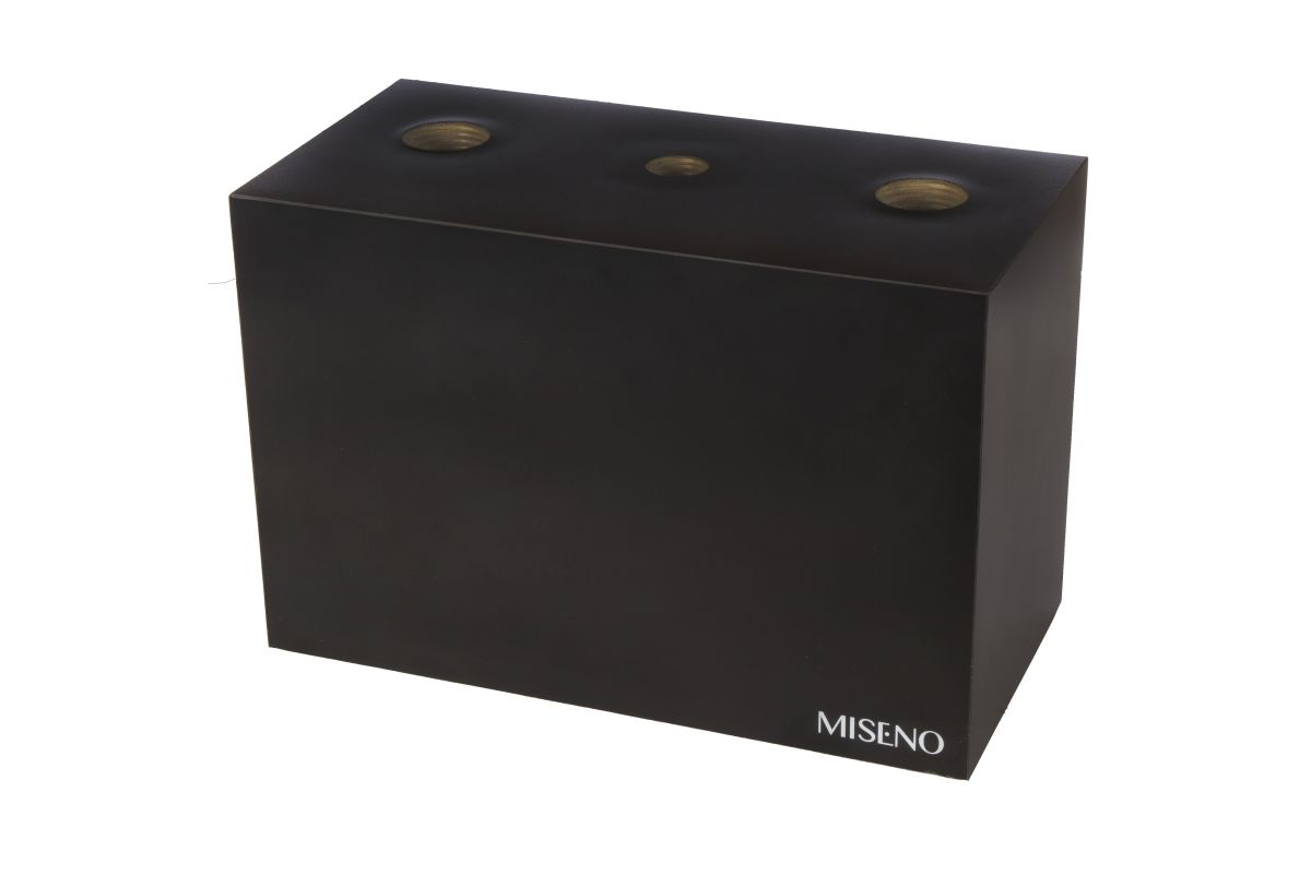 Miseno MLBOX-3 Widespread Lavatory Faucet Box - Miseno Branded Black ...