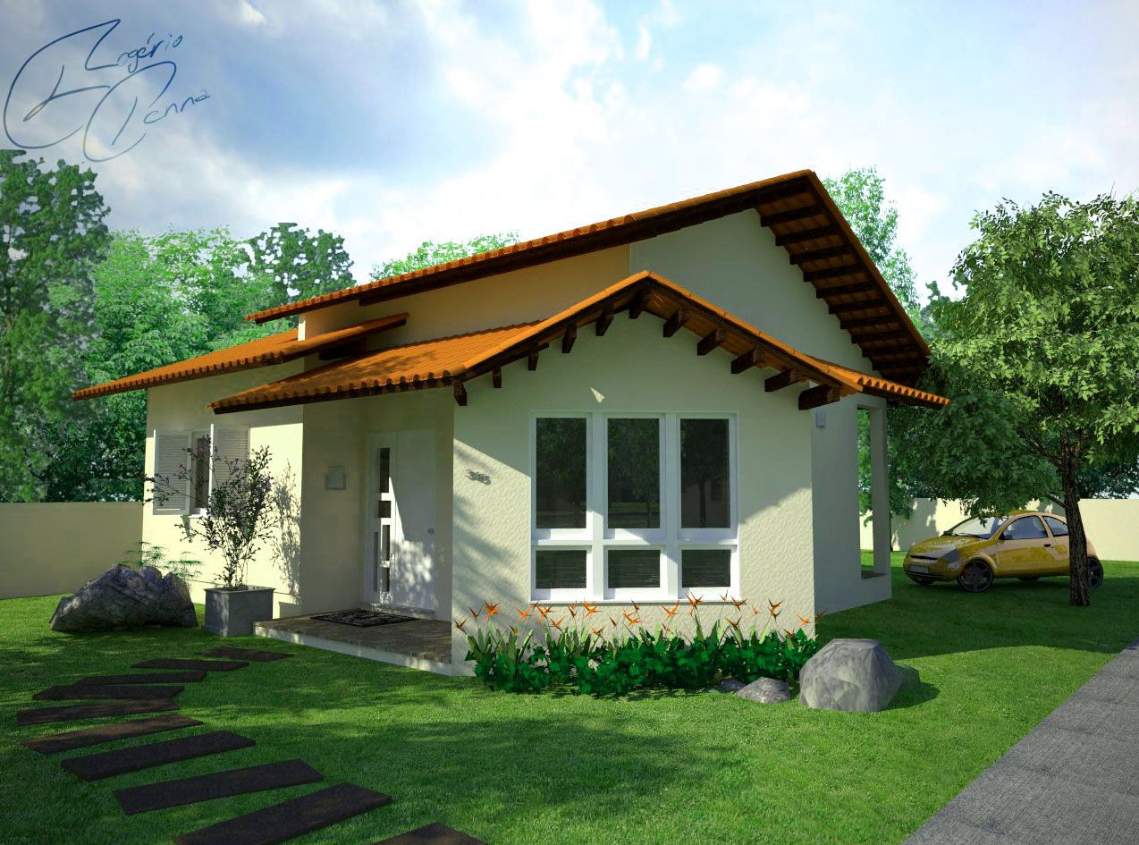 Casas De Campo Pequenas Estilos Architectural Elements Small House Spanish Bungalow