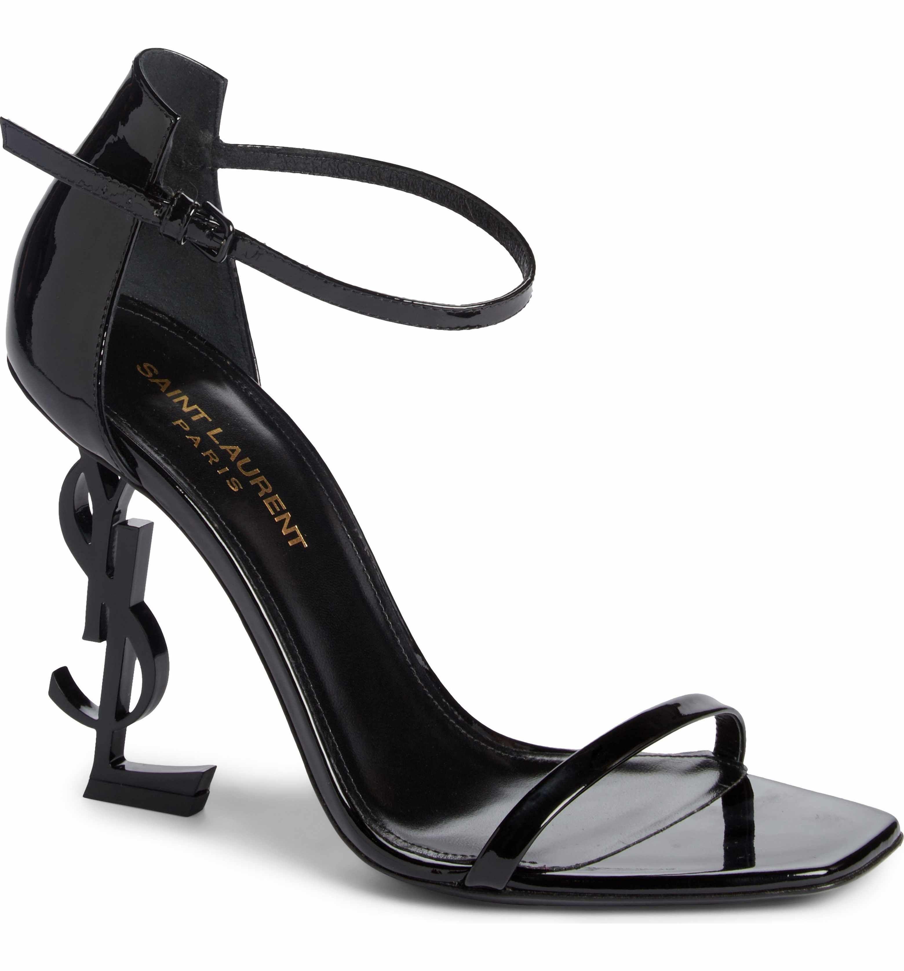 dfd6624ccfdf Main Image - Saint Laurent Opyum YSL Ankle Strap Sandal (Women ...