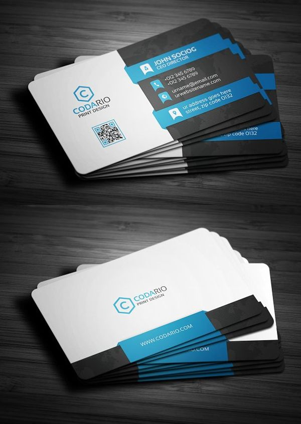 25 New Professional Business Card Templates Print Ready Design Design Graphic Design Junction Professional Business Cards Modern Business Cards Cool Business Cards