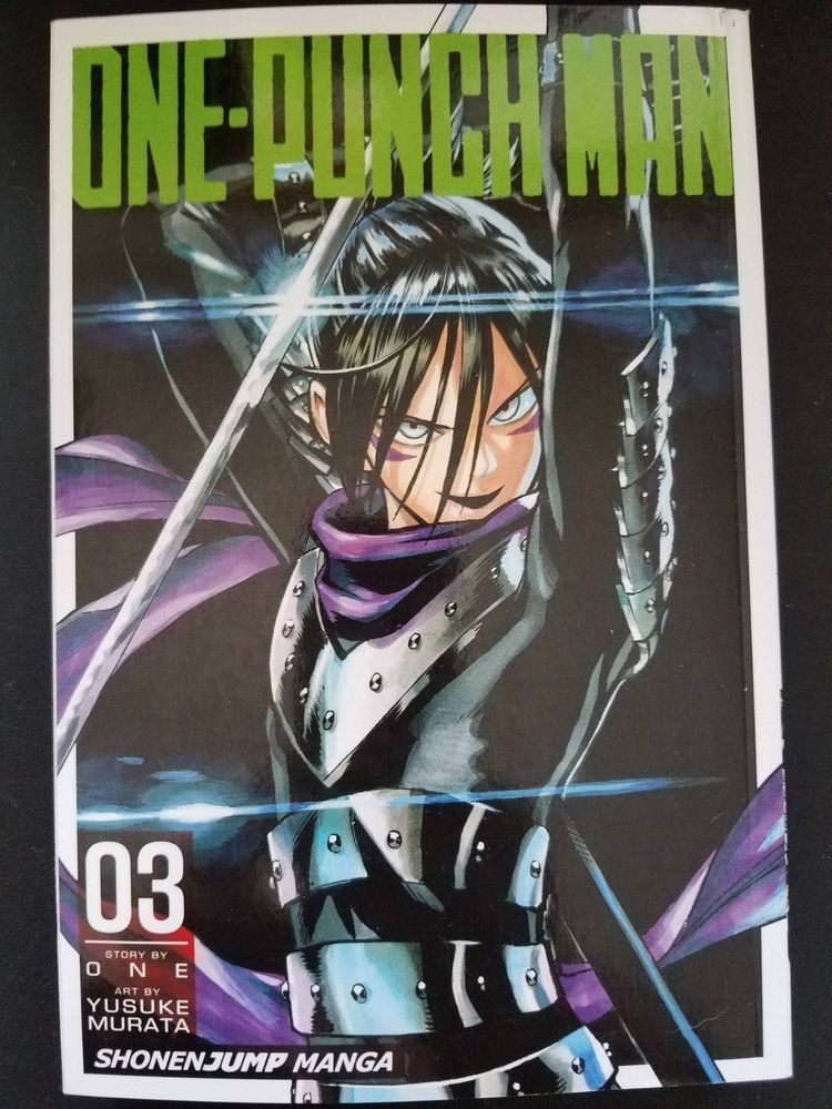 one punch man vol 3