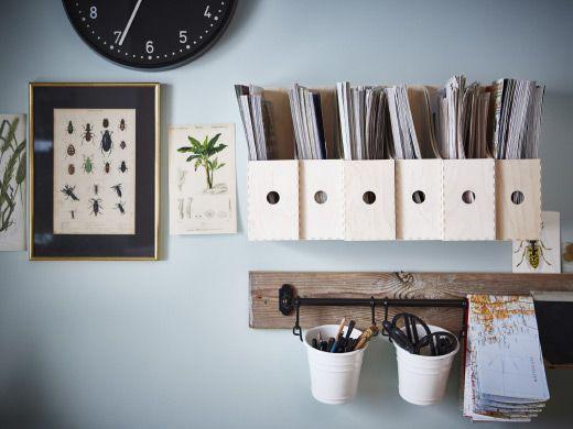 Raccoglitori Ufficio Ikea : Pin di jane su home pinterest portariviste e ikea