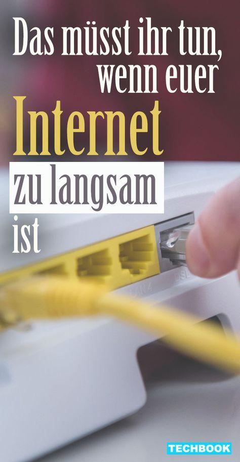 Ihre Internetverbindung Ist Zu Langsam Techbook Verrat Ihnen Einige Tipps Mit Denen Sie Ihr Internet Schneller Machen Internet Langsam Wlan Schneller Machen