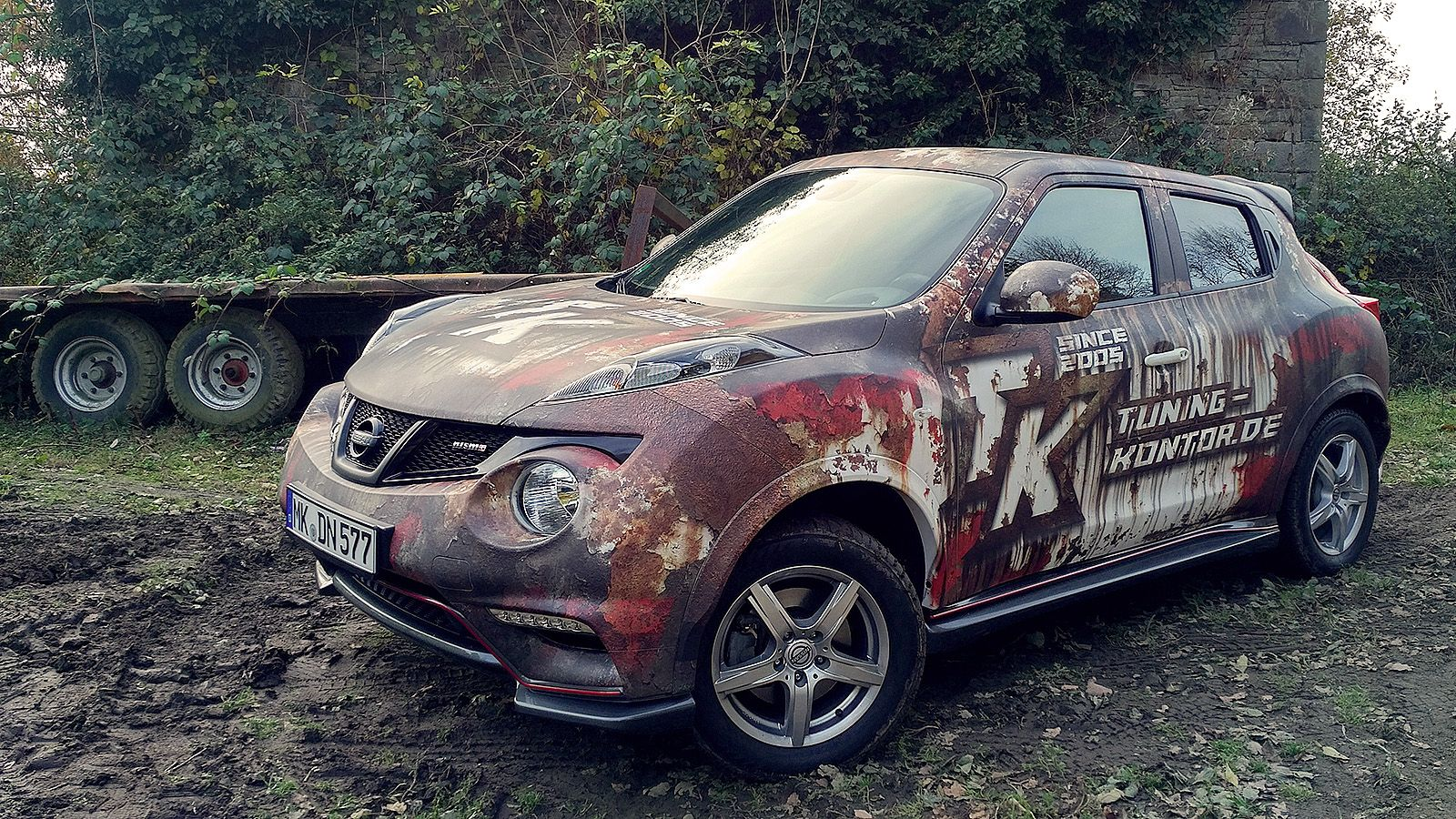 Implemented Another Our Wrap Project   Rusty Nissan Juke