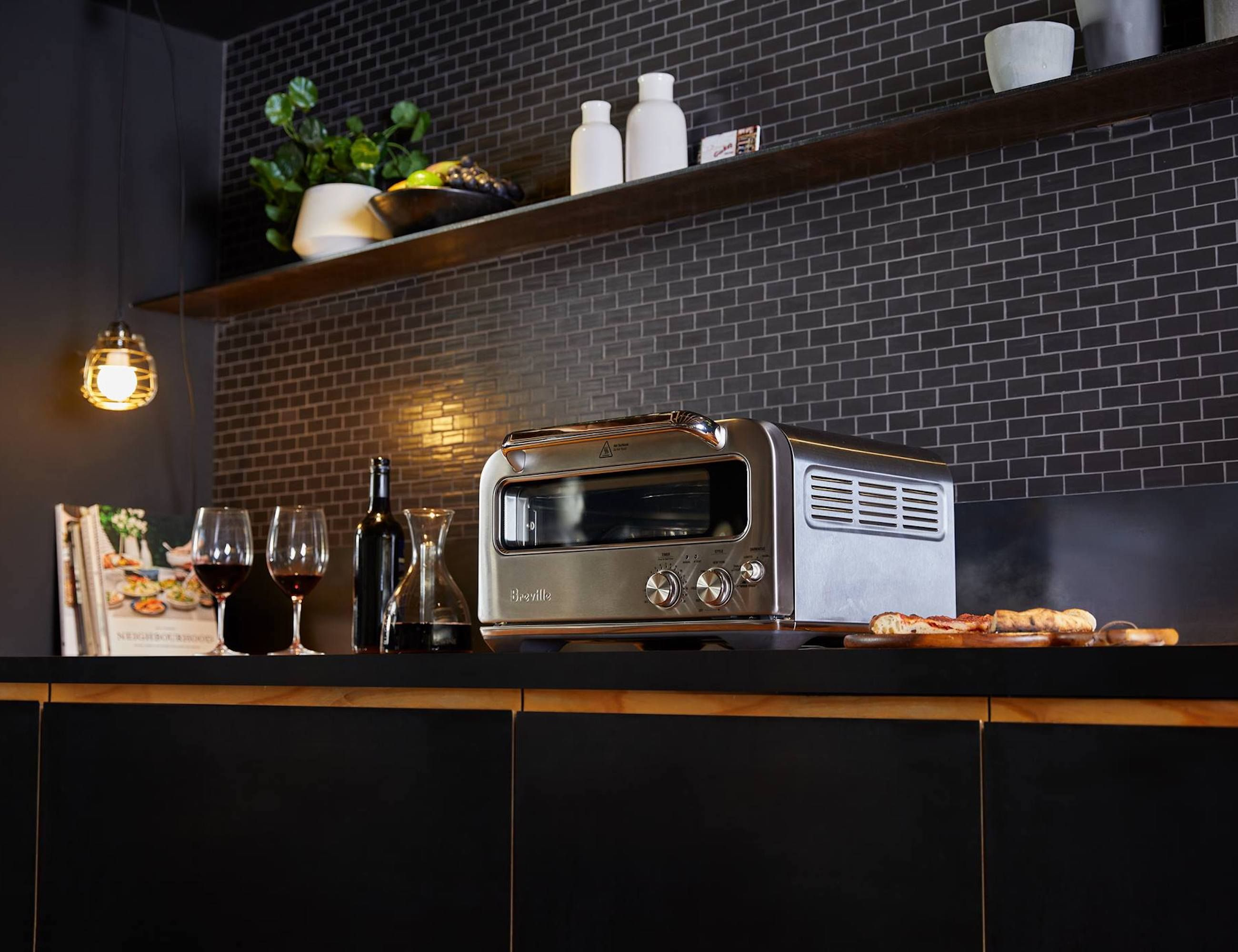 Breville Pizzaiolo Smart Countertop Pizza Oven Gadget Flow