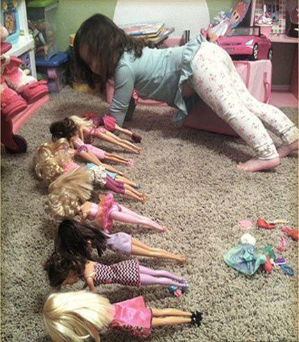Barbie Bootcamp!