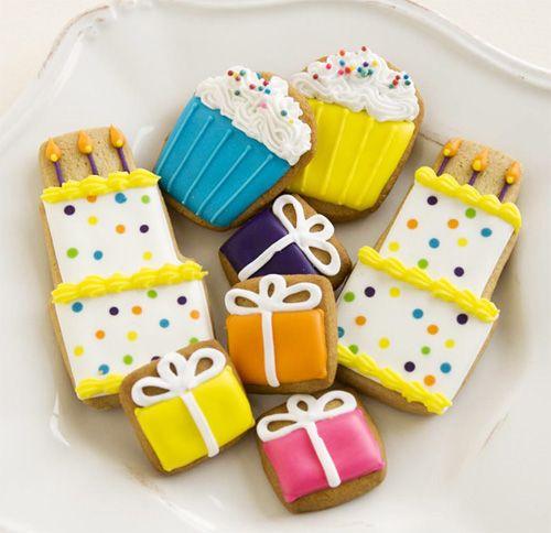 Cute Cookies Cute Cookies Birthday Cookies Creative Cookies
