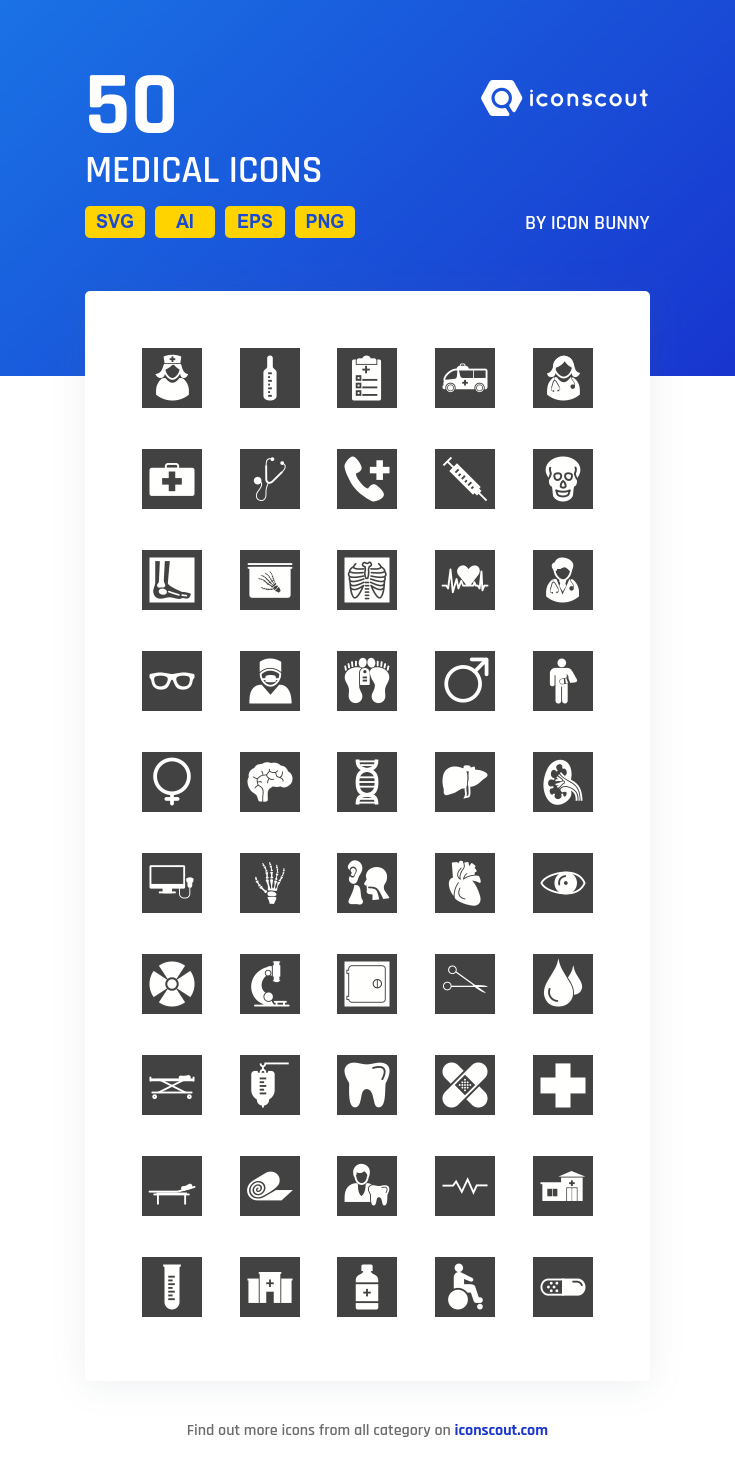 Download Medical Icon pack Available in SVG, PNG, EPS