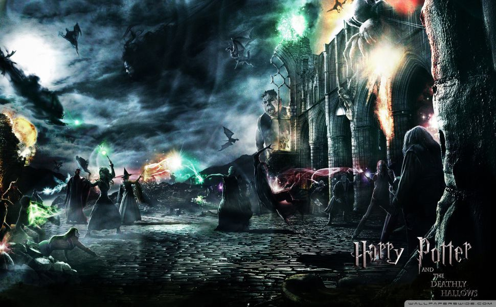 Harry Potter And The Deathly Hallows Hd Wallpaper Harry Potter Wallpaper Deathly Hallows Wallpaper Harry Potter