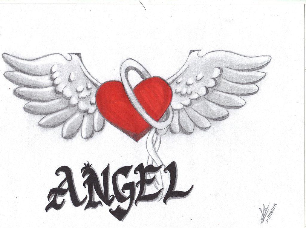 Angel Heart wings by ChaosSketch.deviantart.com on ...
