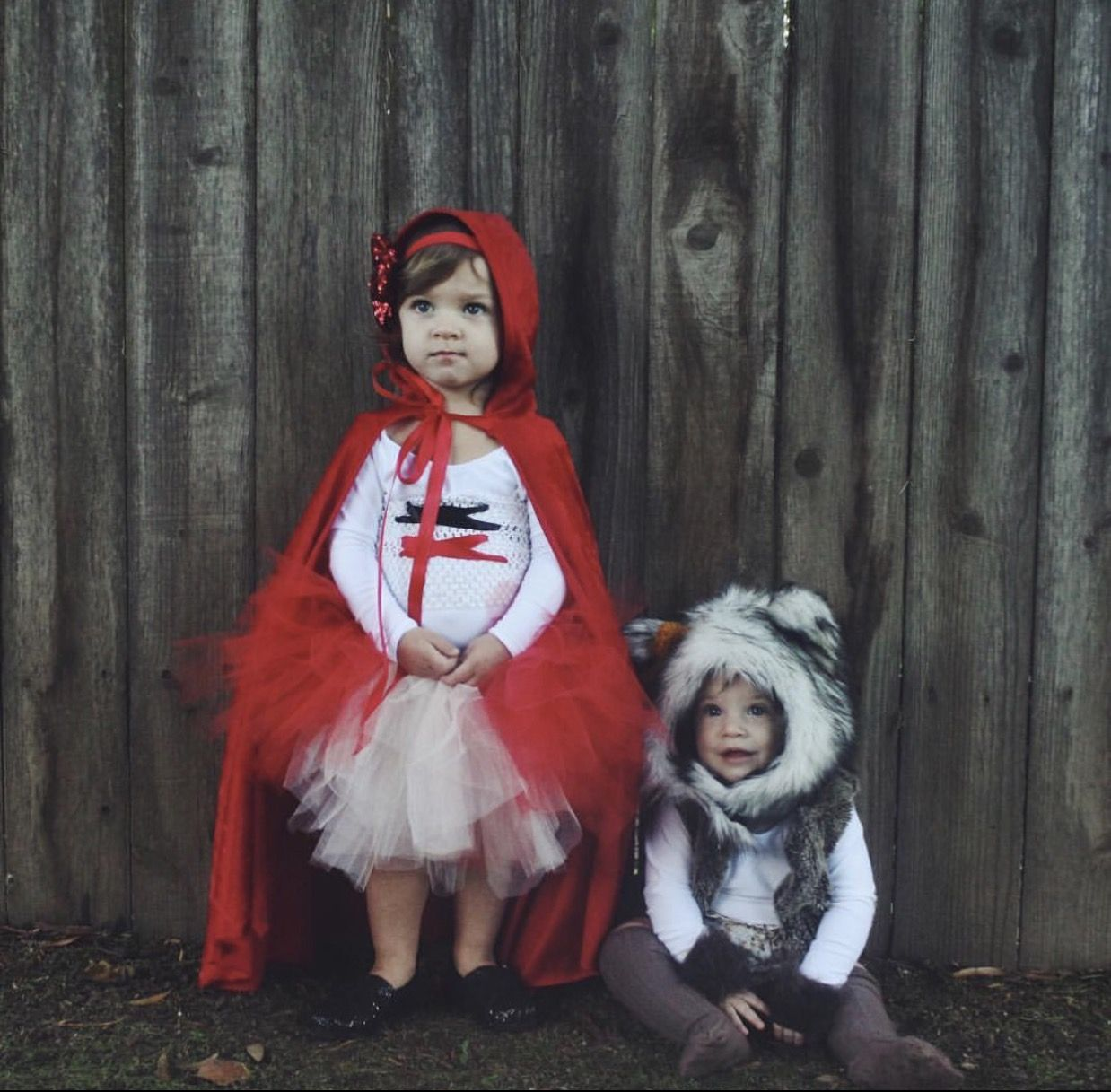Big Bad Wolf Animal Little Red Riding Hood Toddler Kids Halloween Costume