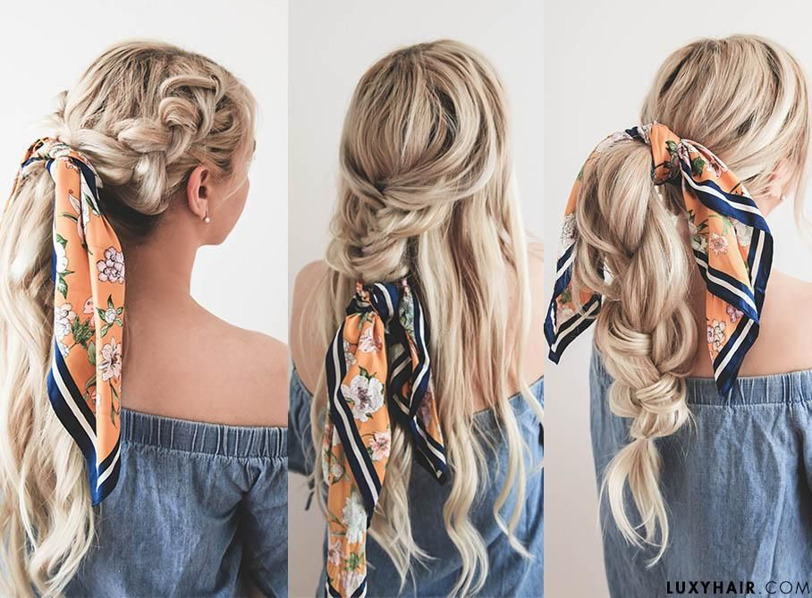 Headscarf Hairstyle Ideas Summer How To Guide Tips Scarf Hairstyles Hair Styles Summer Hairstyles