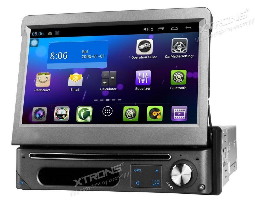 Xtrons D788a Android Hd Dvd Autoradio Bluetooth Gps 1 Din Mp3 3g