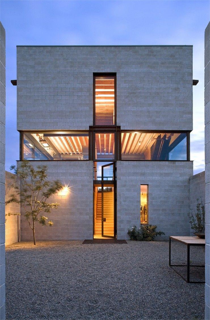 Concrete home in the desert architettura di interni for Architettura case moderne idee