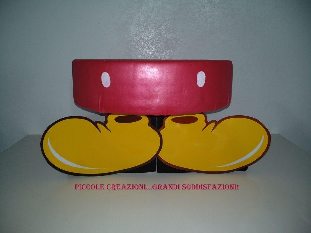 Alzatina di Topolino | Piccole creazioni...grandi ...