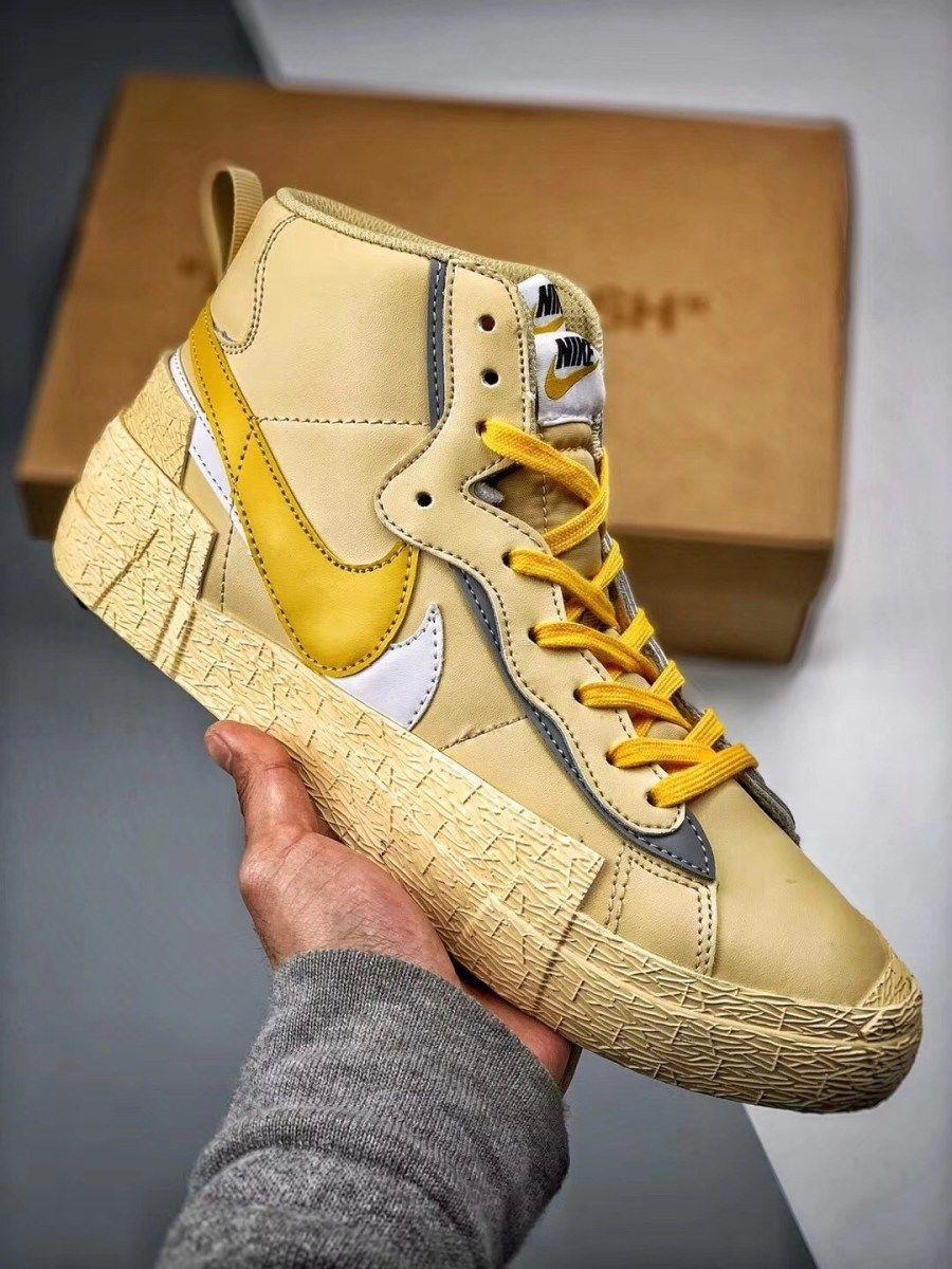 Nike sacai combine dunk blazer   Sapatilhas, Sneaker boots e