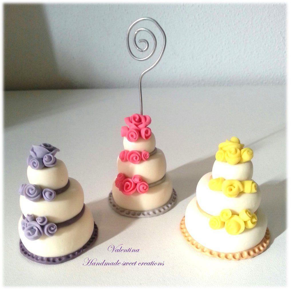 Segnaposto Matrimonio Mini Torte.25 Mini Wedding Cake Rose Segnaposto Matrimonio By Valentina