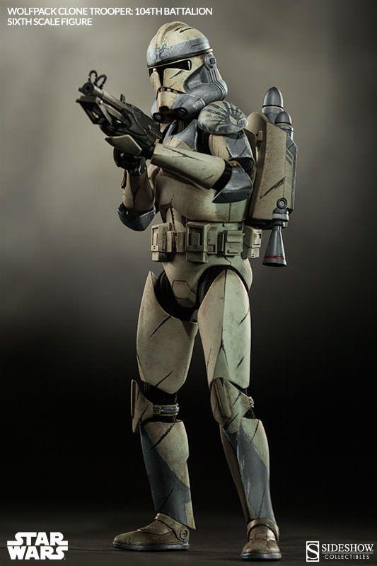 star wars wolfpack clone trooper 104th battalion star wars