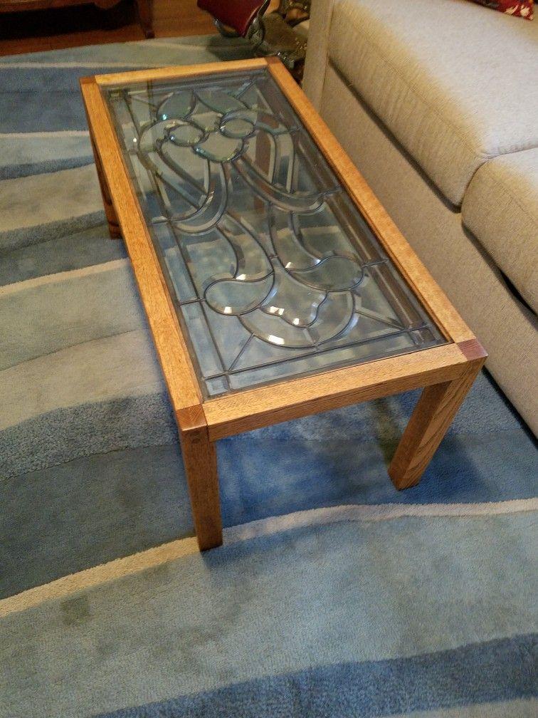 Surprising Coffee Table In Den Cut Glass Custom Furniture At 4 Download Free Architecture Designs Sospemadebymaigaardcom