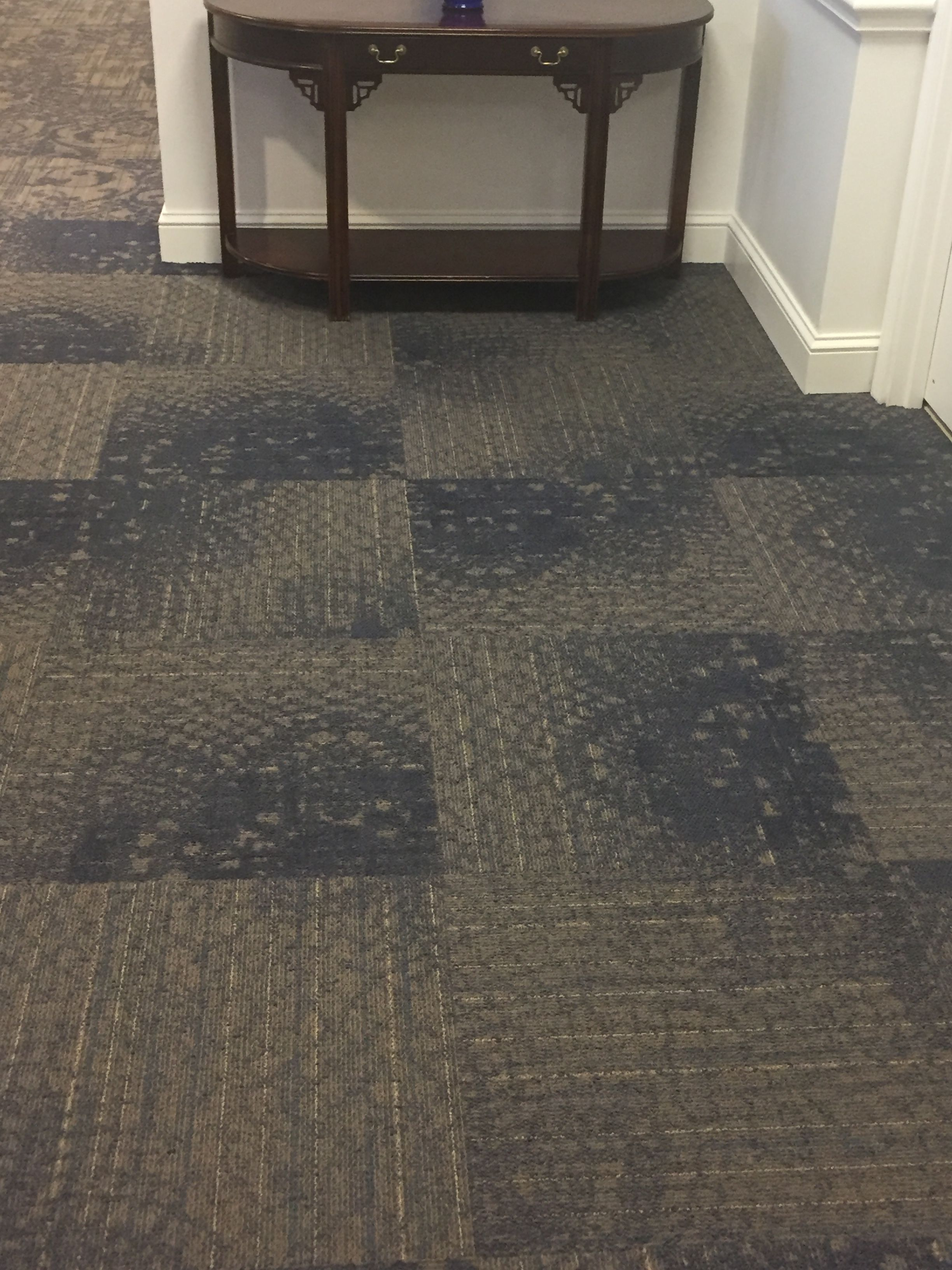 Embellish Carpet Tile By Ef Contract Color 45 Falling Waters Available In 24 X 24 And 12 Wide Broadloom Tile Shown Flooring Carpet Tiles Tree Carving