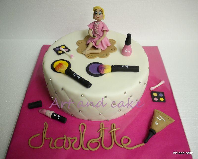 Make-up cake/taart