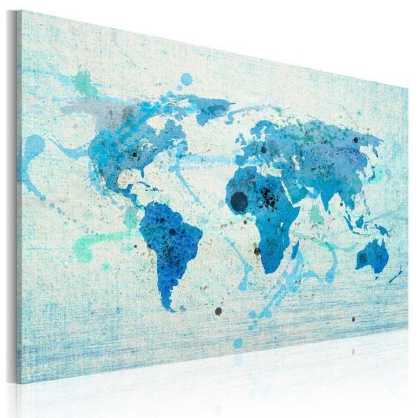 Quadro - Continenti e oceani