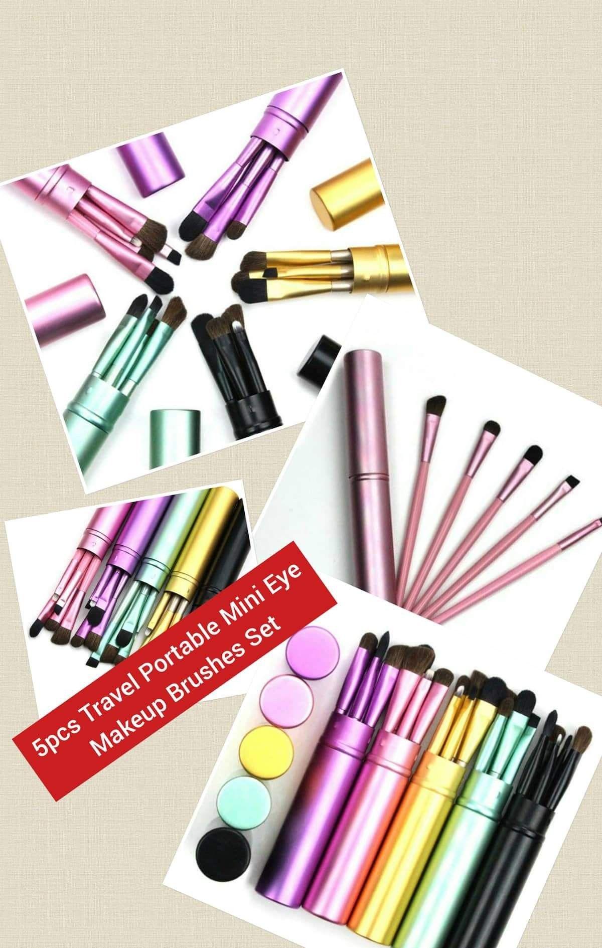 5pcs Travel Portable Mini Eye Makeup Brushes Set Item Type
