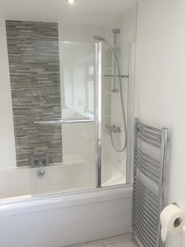 Shower Over Bath In Moortown Bathroom Shower Over Bath Bathroom Design Trendy Bathroom