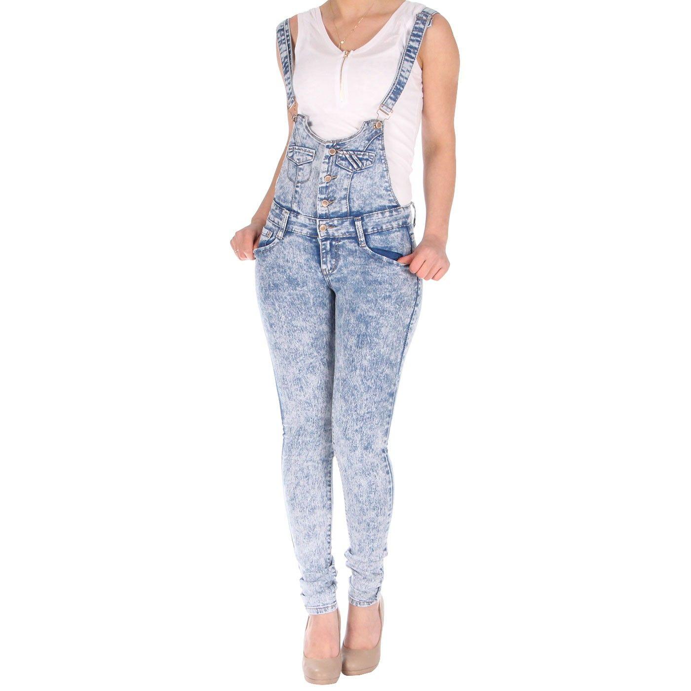 Salopette en jeans, bleu délavé à 26,99€ sur http://www.milyshop.com