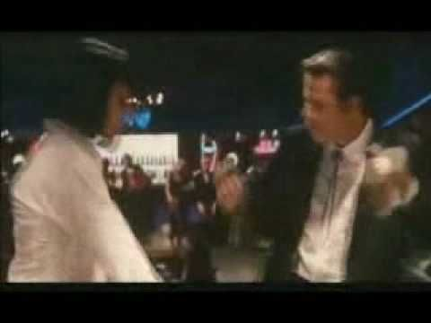 Pulp Fiction Dancing Scene Uma Thurman John Travolta