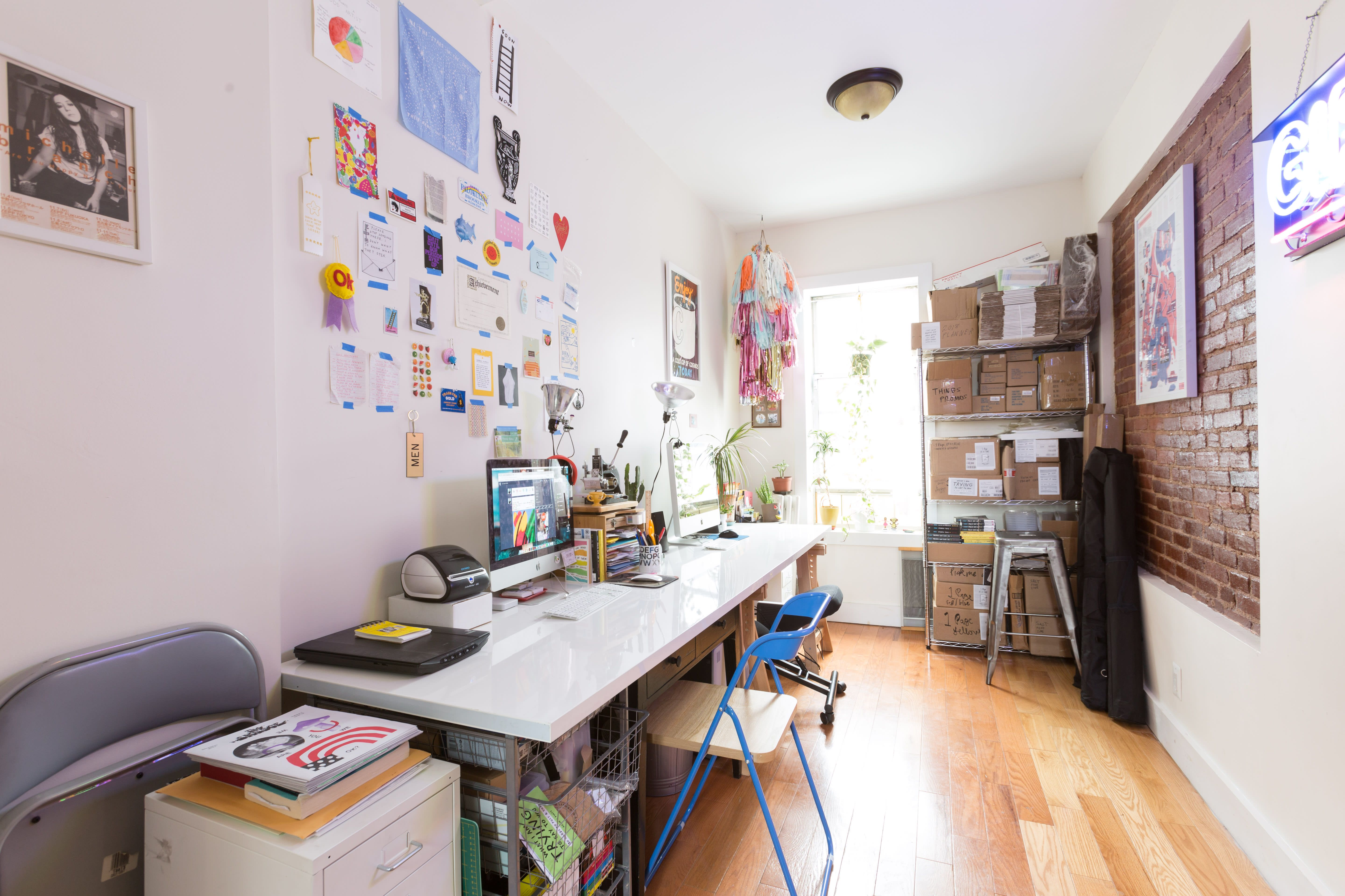 A BrooklynBased Artist's Home Is Awesomely Honest and