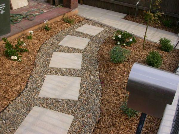 Gartengestaltung mit Steinen – 10 wunderbare Ideen ...