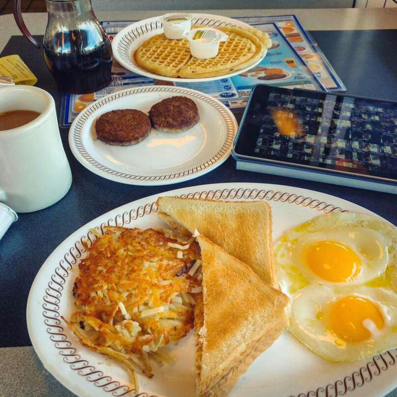 Sometimes That All Star Breakfast Is All You Need Ig Jetrosx Wafflehouse Breakfast Food Picks Food Waffle House