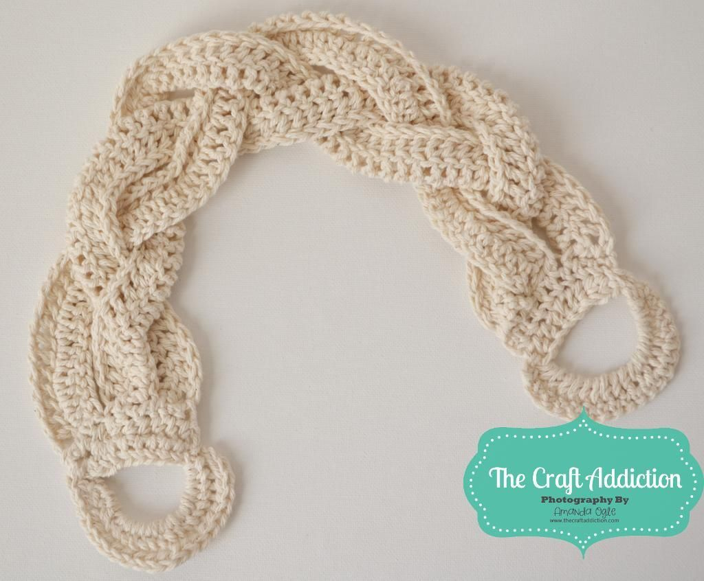 Braided Crocheted Back Scrubber | bath | Pinterest | Ganchillo, Baño ...