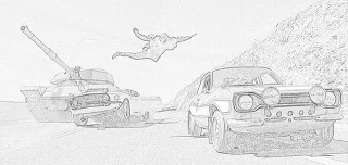 Coloring Pages Fast And Furious Coloring Pages Free And