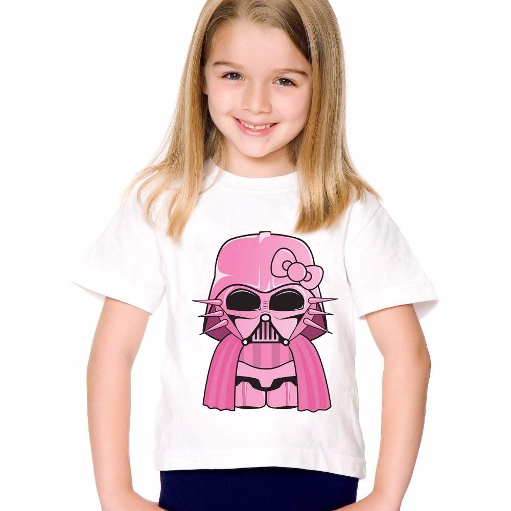 Star Wars Black Jedi Darth Vader Official Childrens Tee T-Shirt Boys Kids