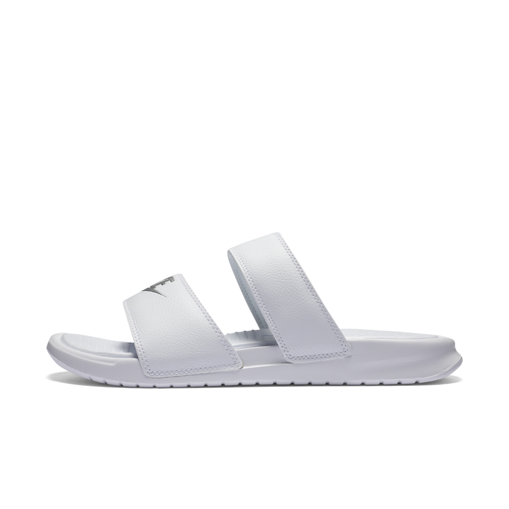 cb5c138ae6926a Nike Benassi Duo Ultra Women s Slide Sandal Size 11 (White ...