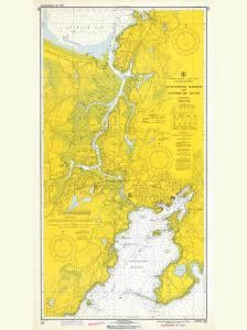 Historical Nautical Chart 233-1-1973: MA, Gloucester Harbor And Annisquam River Year 1973