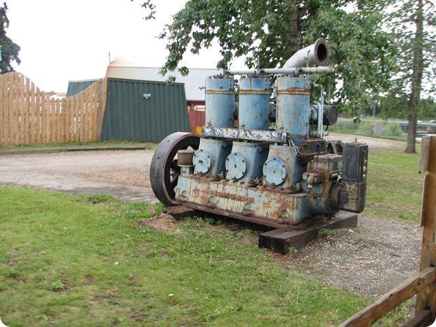 first diesel engine. Exellent First An Old Threecylinder Diesel FairbanksMorse Engine Used For One Of The  First Intended First Diesel Engine A