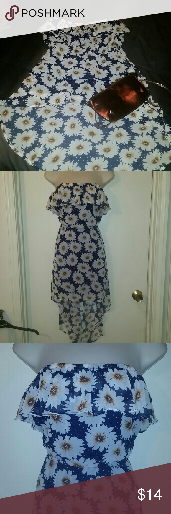 Pretty Flower Dress Flower Dresses High Low And Choices