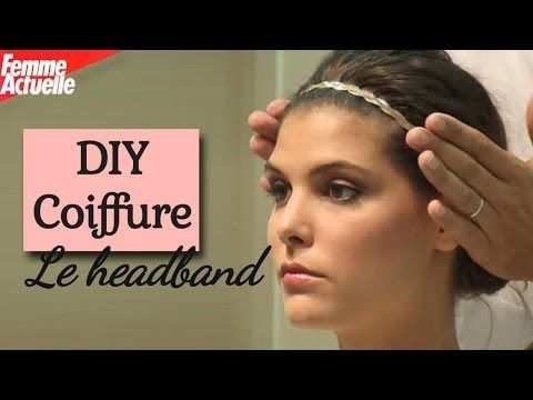 Voici Notre Tuto Headband Pour Apprendre A Mettre Un Headband Dans Vos Coiffures Meme Sur Cheveux Courts Coiffure Facile Coiffure Tuto Coiffure Facile