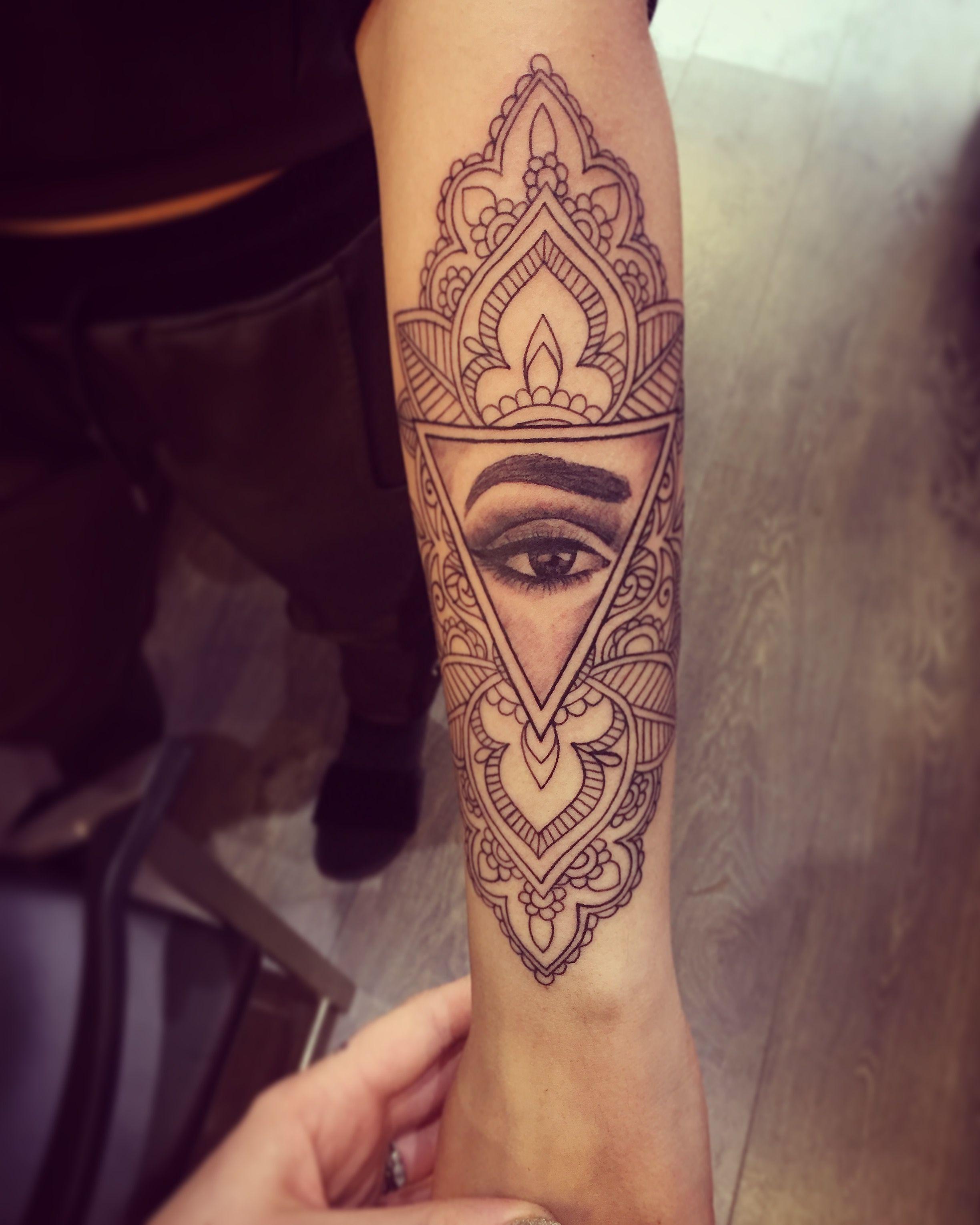 Henna Eye Tattoo: #tattoo #tattoos #ink #inked #girlswithink