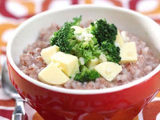 Resep Makanan Bayi Bubur Beras Merah Healthy Recipes Food Pureed Food Recipes