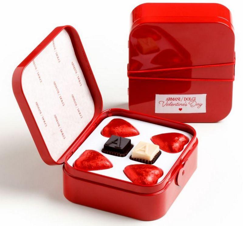 Armani Dolce Valentine's Day Chocolates #Armani #ValentinesDay